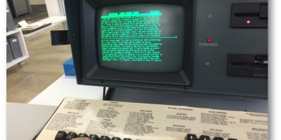 WordStar shown on a Kaypro IV