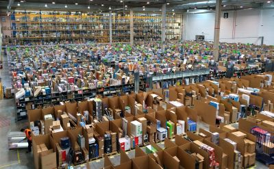 Amazon warehouse in Spain