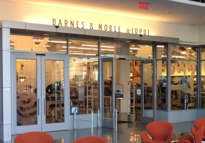 The IUPUI Barnes & Noble College store is not one of those that has decided to dump textbooks.