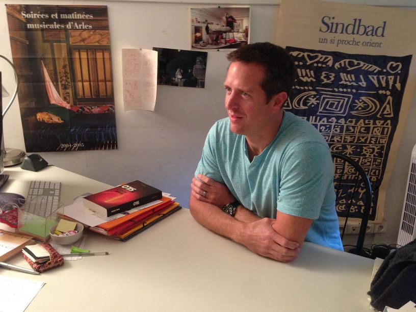Hugh Howey. Photo by ActuaLitté, used under a Creative Commons Attribution-Share Alike 2.0 Generic license.