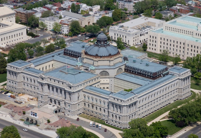 The iconic Library of Congress building in Washington: How best to serve the whole country?