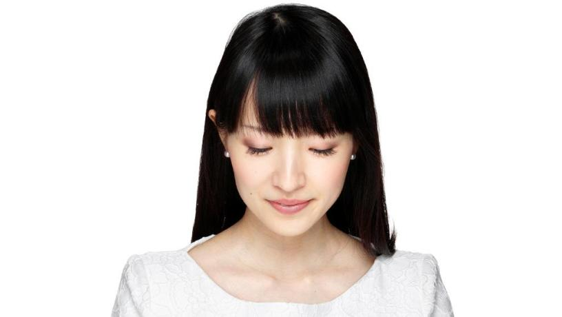 Marie Kondo, the queen of decluttering.