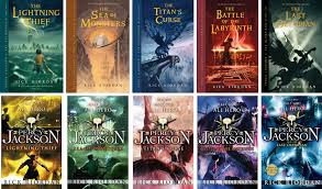 Image result for percy jackson books