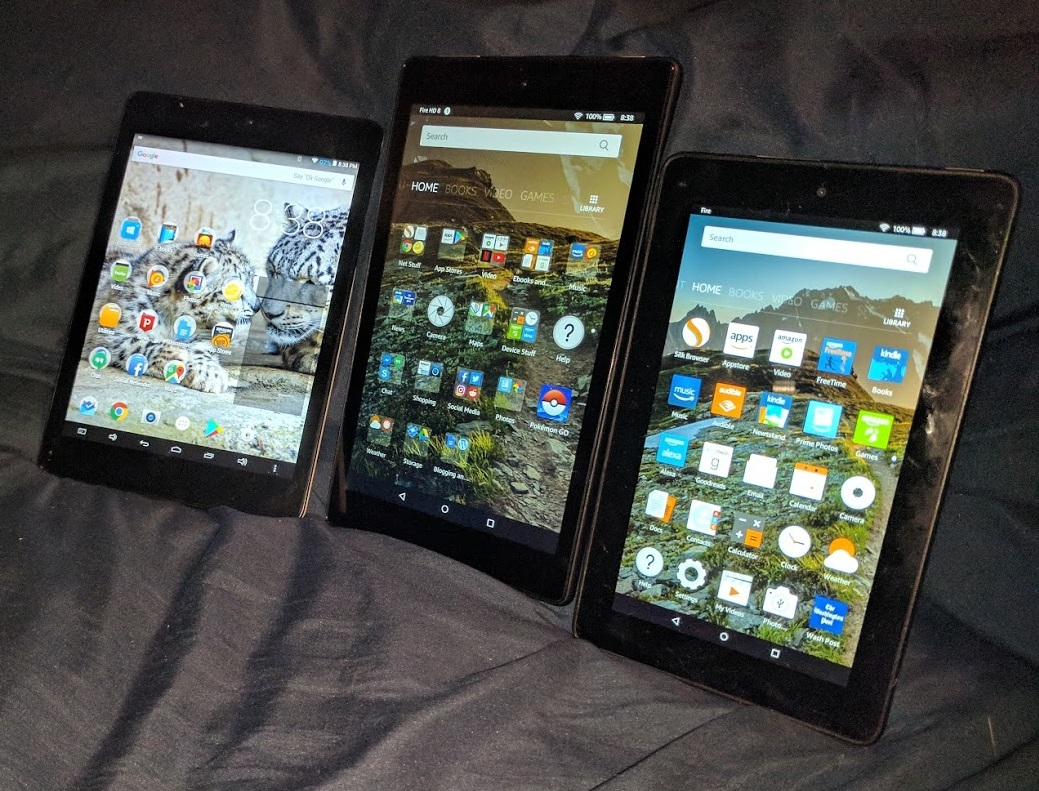 fire hd 8 first look google play installs easily