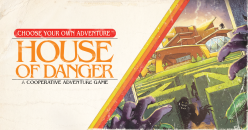 "Z-Man Games's new ""House of Danger"" game is based on a classic Choose Your Own Adventure novel"