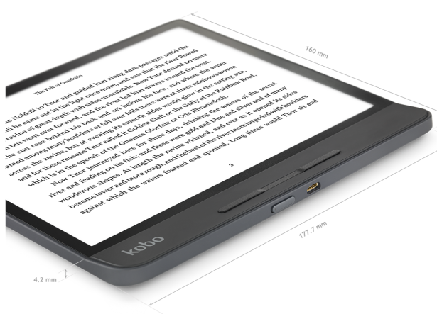 Kobo Oasis rival: Forma has 8″ screen and easy-on-the-eye