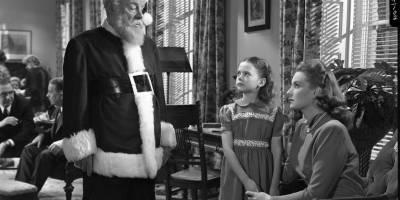 Edmund Gwenn, Natalie Wood, and Maureen O'Hara, in Miracle on 34th Street