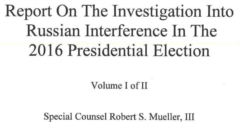 Mueller Report ebook news roundup