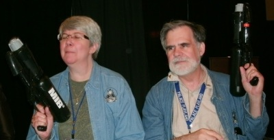 Sharon Lee and Steve Miller, at ConQuesT 2012 in Kansas City.